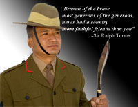 Gurkha a faithful friend