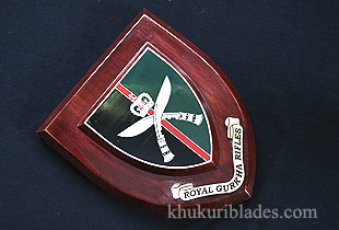 Gurkha Regimental Plaque (RGR)