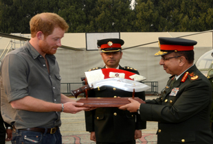RAJAGAJ Prince Harry