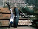 Khukuri Lal Bdr Thapa